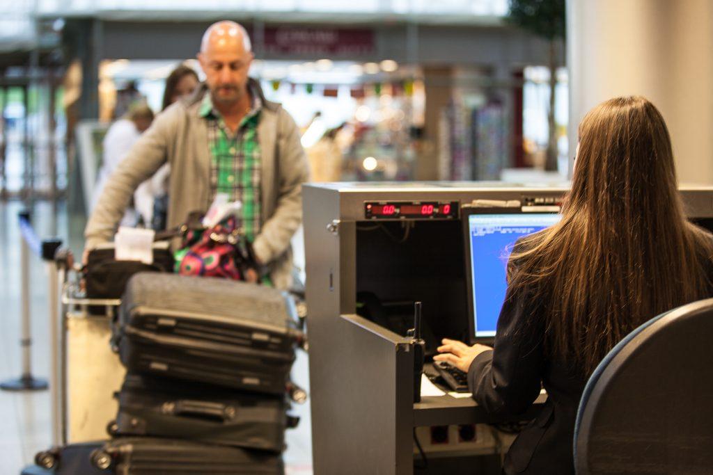 Comptoirs d'enregistrement Liege Airport