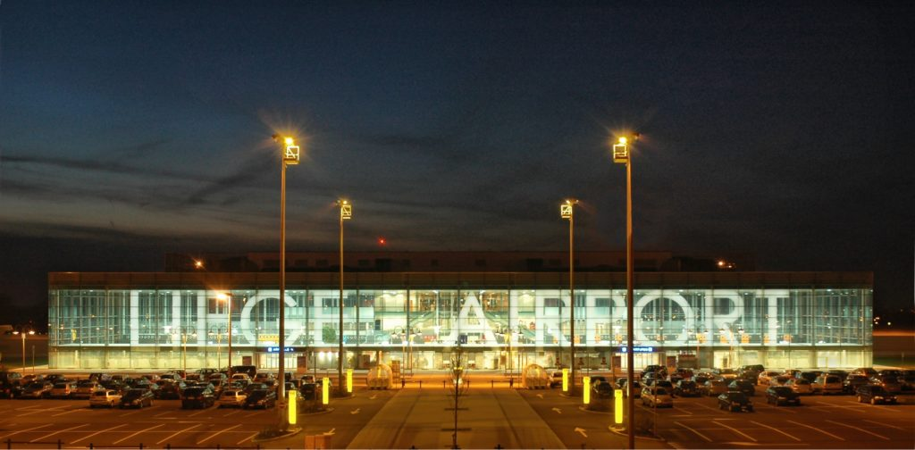 Terminal passager Liege Airport